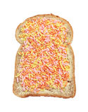 Bread with fruit sprinkles Stock Images