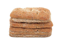 Bread full sliced, isolated Royalty Free Stock Photos