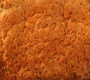 Bread golden warm crust bakery texture Royalty Free Stock Photography