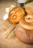 Bread and grain Royalty Free Stock Photos