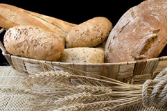 Bread and grain Royalty Free Stock Images