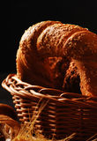 Bread, grain and ears Royalty Free Stock Photography