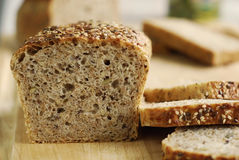 Bread with grains Stock Image