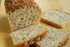 Bread with grains Royalty Free Stock Photos