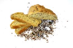 Bread with grains in Sofia , Bulgaria Stock Images