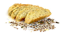 Bread with grains in Sofia , Bulgaria Royalty Free Stock Photos
