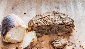 bread home made Στοκ φωτογραφίες με δικαίωμα ελεύθερης χρήσης
