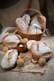 Bread In Human Life Stock Photo