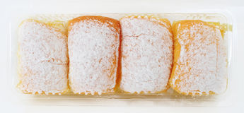 Bread with icing Royalty Free Stock Images