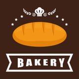 Bread icon design Stock Photography