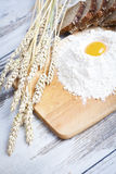 Bread ingredients Royalty Free Stock Images
