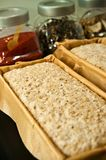 Bread ingredients ready for oven Royalty Free Stock Photography