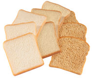 Bread. Isolated Stock Images