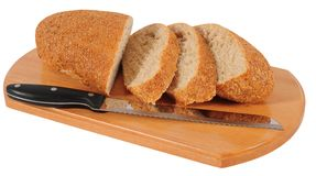 Bread. Isolated Royalty Free Stock Photos