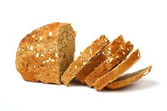 Bread isolated Royalty Free Stock Photos