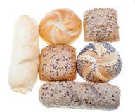 Bread isolated Royalty Free Stock Image