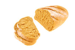 Bread  on isolated Royalty Free Stock Photos