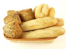 Bread, isolated Royalty Free Stock Photos