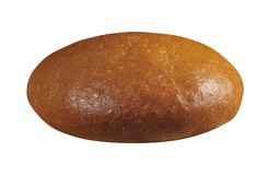 Bread isolated on white stock photos