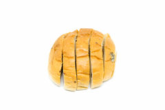 Bread isolated on white Royalty Free Stock Photo