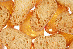 Bread isolated white background Royalty Free Stock Image