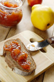 Bread and jam Stock Image