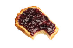 Bread with jelly Royalty Free Stock Image