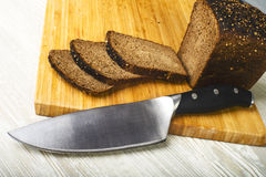 Bread knife Stock Photography