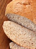 Bread with loaf Stock Image