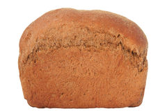 Bread loaf. Bread on a white background Royalty Free Stock Images