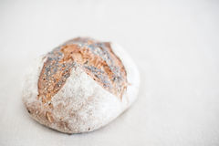 Bread loaf close up in selective focus Stock Photo