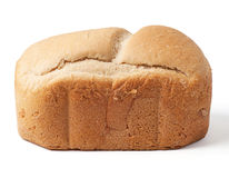 Bread loaf isolated on white Royalty Free Stock Image