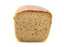 Bread. Loaf of bread isolated on white background Stock Photography