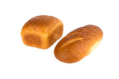 Bread loaf and the loaf Stock Photo