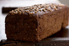 Bread loaf macro Stock Photo