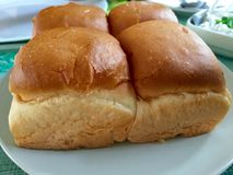 Bread loaf - Pao Stock Photo