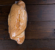 Bread loaf in shrink wrap Royalty Free Stock Photography
