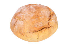 Bread 03. Loaf of white bread on a white background Stock Image
