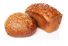 Bread loafs Stock Images