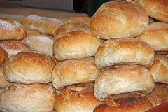 Bread Loaves. Royalty Free Stock Photography