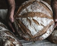 Bread loaves food photography recipe ideas stock photography