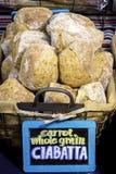 Bread in a local market for sale Stock Photo