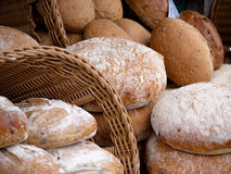 Bread from a local outdoor market Stock Photography