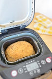 Bread machine with pan Stock Photo