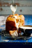 Bread machine pumpkin monkey bread. Royalty Free Stock Images
