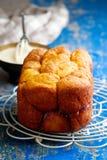 Bread machine pumpkin monkey bread. Royalty Free Stock Photo