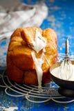 Bread machine pumpkin monkey bread. Stock Images