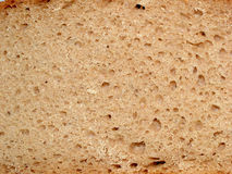 Bread - macro. Digital photo of a slice of bread Royalty Free Stock Photography