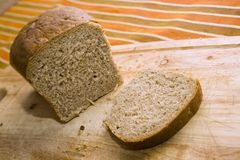 Bread made of graham. (whole wheat) flour Stock Photo