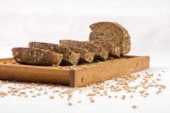 Fresh taste of bread stock photo